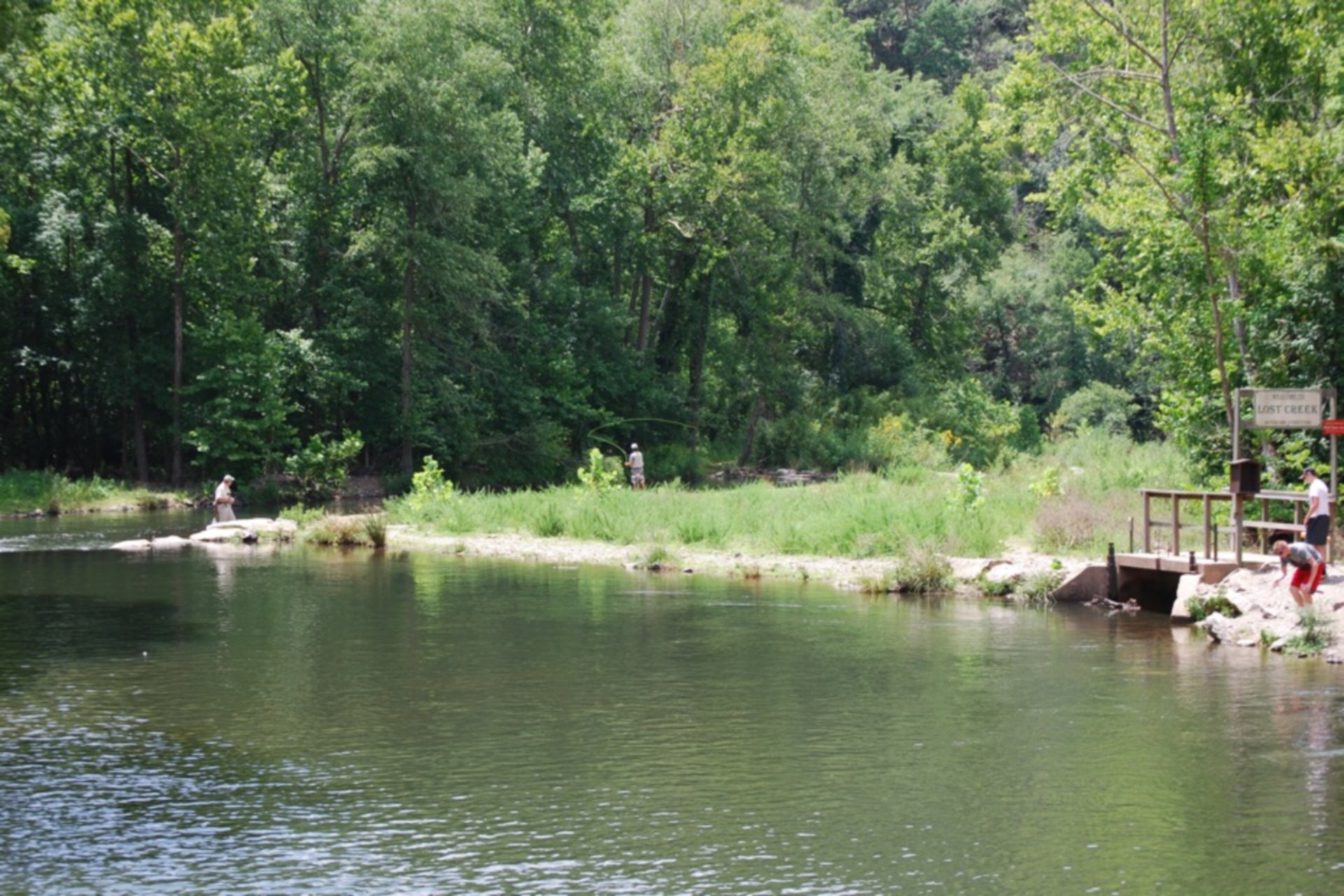 Fly Fishing on Lower Mountain Fork River
